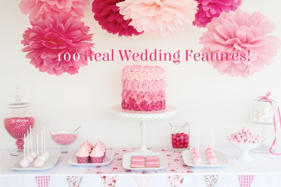 100 real wedding features